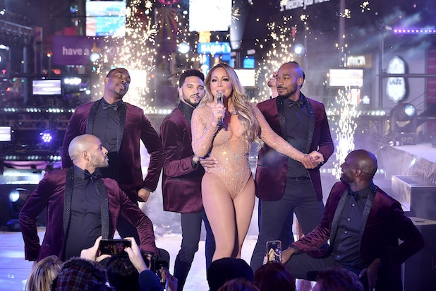 Mariah Carey New Year's Eve 2017