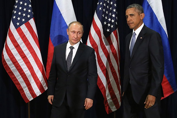 Barack Obama Vladimir Putin Russia Russian