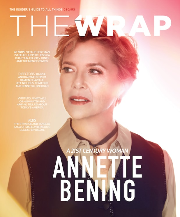 OscarWrap Annette Bening cover
