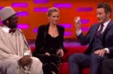 Chris pratt Jennifer lawrence Will.I.Am Graham Norton Show