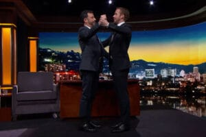 Ryan Gosling Teaches Jimmy Kimmel Dance