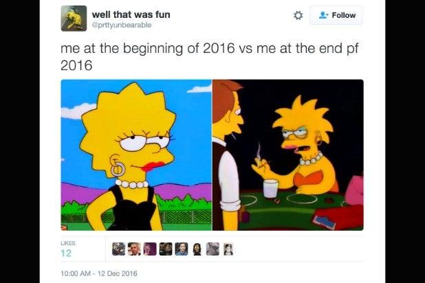 2016 meme lisa simpson