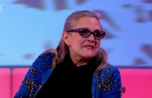 carrie fisher 8 out of 10 cats