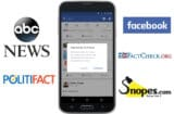 facebook abc news fake news politifact snopes