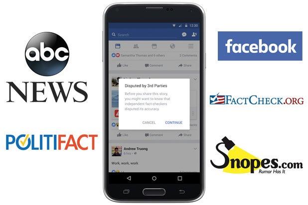 facebook abc news fake news politifact snopes