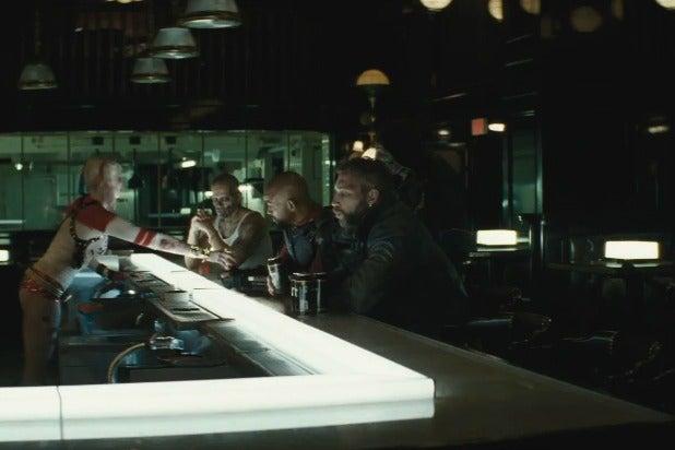 Suicide Squad Bar Scene