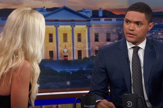 Tomi Lahren, Trevor Noah Spar Over Black Lives Matter on 'Daily Show'