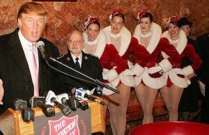 Trump and Rockettes