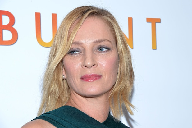 """Burnt"" New York Premiere - Uma Thurman"
