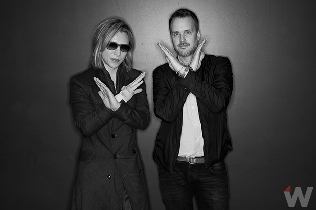 Yoshiki and Stephen Kijak, We Are X
