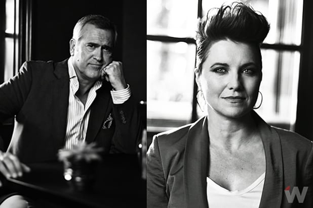 Bruce Campbell & Lucy Lawless
