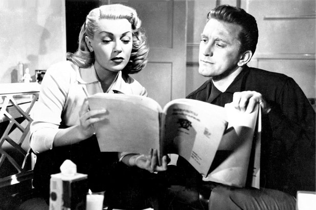 bad and the beautiful kirk douglas