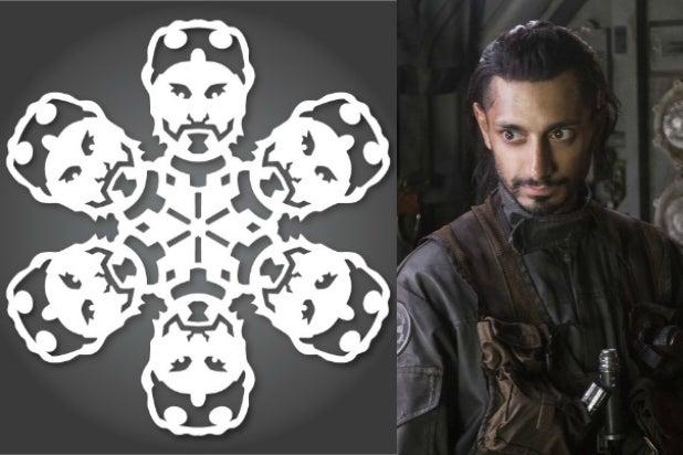 bodhi rook riz ahmed star wars rogue one star wars snowflakes