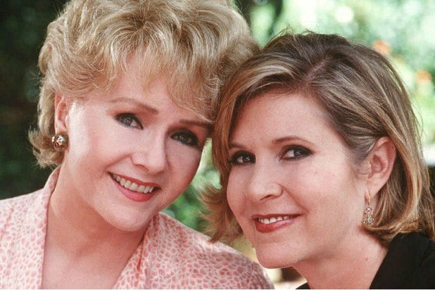 Golden Globes carrie fisher and debbie reynolds