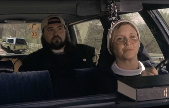 carrie fisher jay silent bob
