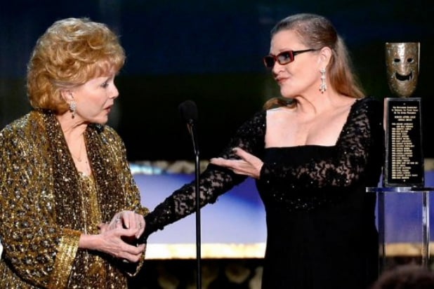 Carrie Fisher 'already cremated' ahead of joint funeral with mum Debbie Reynolds