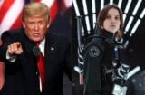 donald trump jyn erso star wars rogue one #DumpStarWars