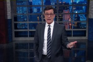 donald trump stephen colbert