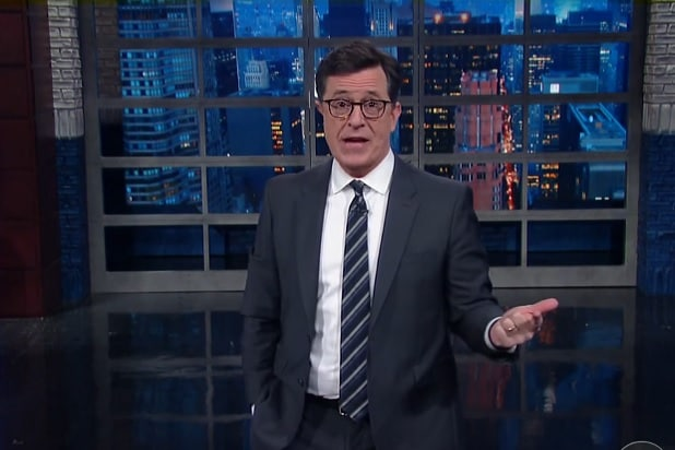 Stephen Colbert Says 'The Crown' Jumped the Shark With ...