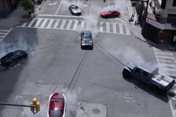 fate of the furious fast and furious 8 vin diesel car door