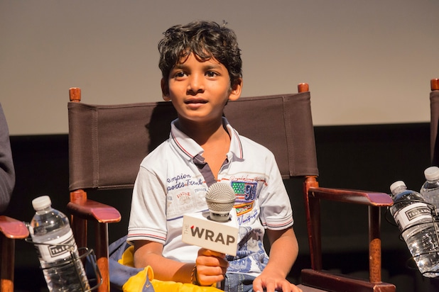 """""""Lion"""" with actor Sunny Pawar"""
