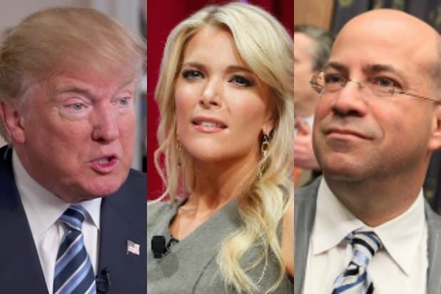 Donald Trump Megyn Kelly Jeff Zucker