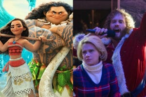moana office christmas party t.j. miller kate mckinnon