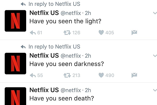 Netflix tweets