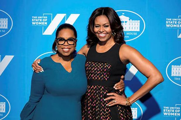 First lady to sit down with Oprah for interview