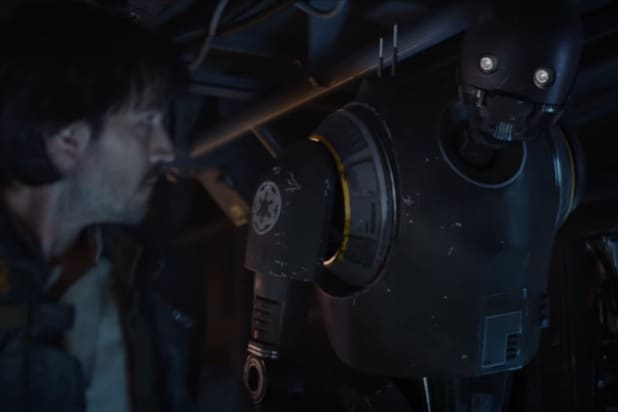 rogue one a star wars story k2-so deleted scene