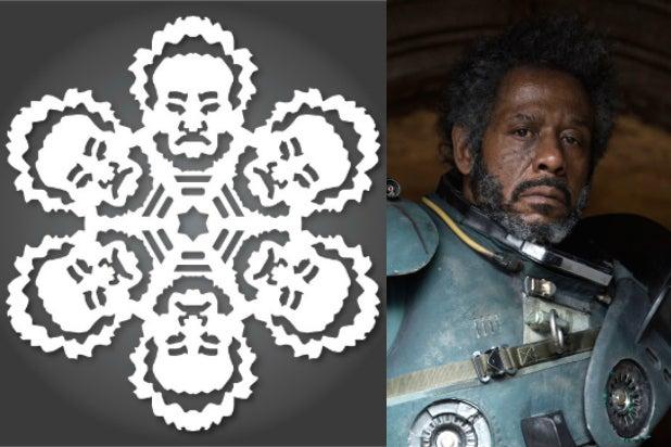 saw gerrera star wars snowflakes rogue one
