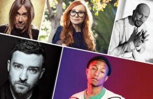 oscar songwriters iggy pop, common, pharrell, justin timberlake, tori amos