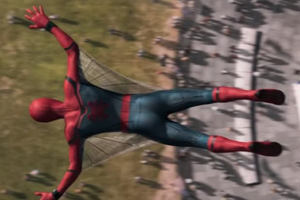 spider-man homecoming wingsuit
