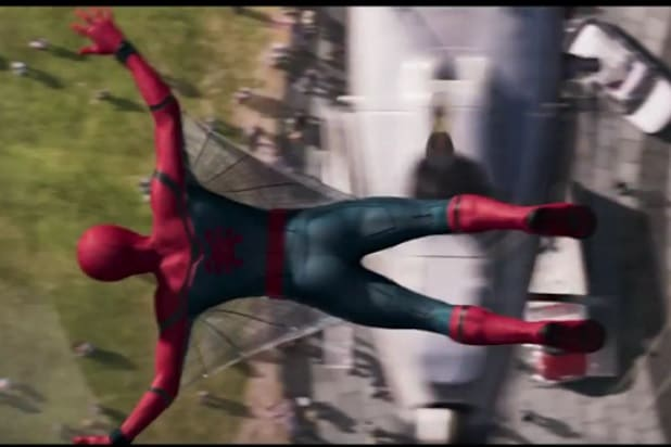 Spider Man Homecoming Teaser Reveals Hero S Web Wings