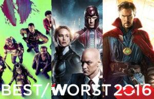 2016 Superhero Movies