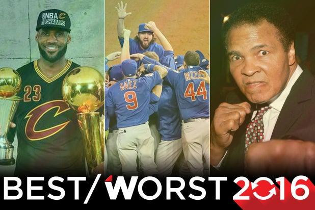 tearjerkers sports 2016 lebron james chicago cubs muhammad ali