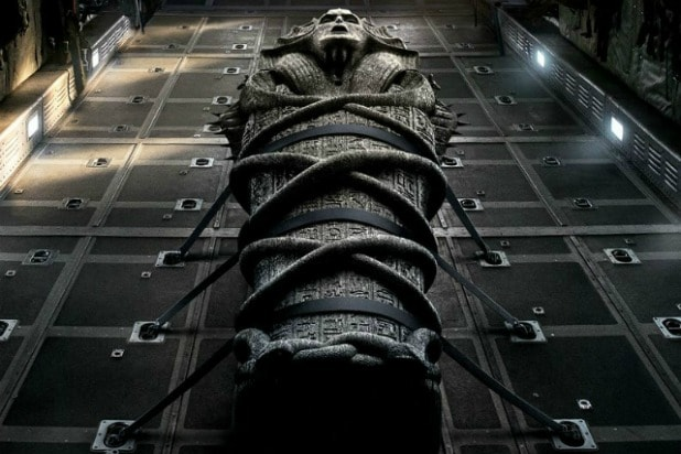 the mummy tom cruise trailer messed up post-credits scene
