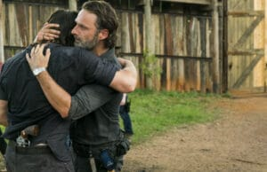 walking dead daryl rick hug