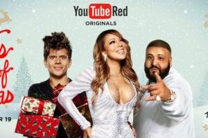 youtube red mariah carey keys of christmas special