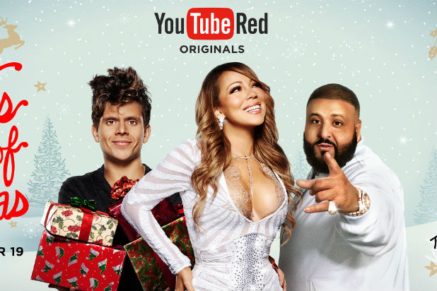 Youtube Mariah Carey Christmas.Mariah Carey To Headline Youtube Red Christmas Special