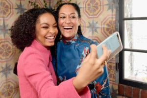 yara shahidi and tracee ellis ross it girl lunch