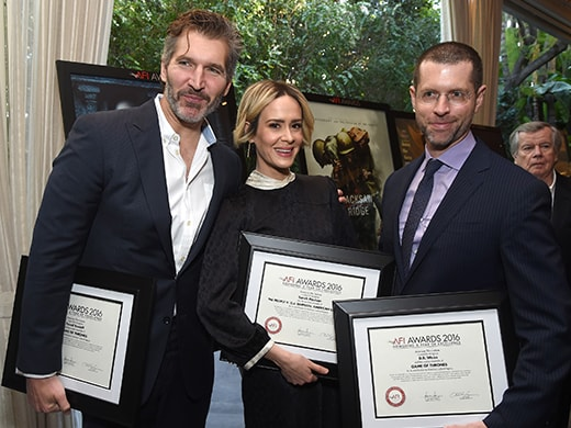 _0009_david-benioff-sarah-paulson-db-weiss-getty-images