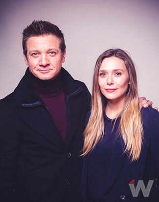 Jeremy Renner and Elizabeth Olsen, Wind River