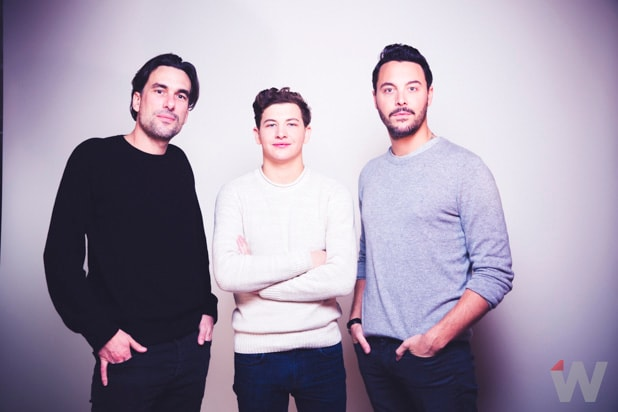 Alexandre Moors, Tye Sheridan, Jack Huston Yellow Birds