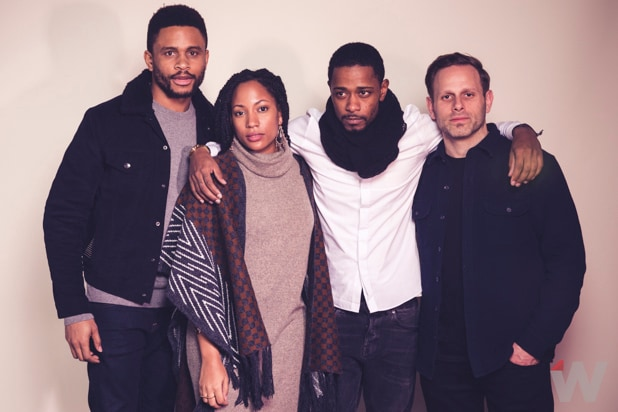 Nnamdi Asomugha, Natalie Paul, Matt Riskin, Lakeith Stanfield, Crown Heights
