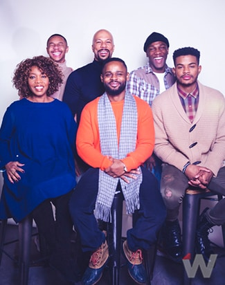 Alfre Woodard, DeRon Horton, Gerard McMurray, Common, Tosin Cole, Trevor Jackson, Burning Sands