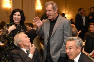 sue-kroll-clint-eastwood-mel-gibson-kevin-tsujihara-getty-images