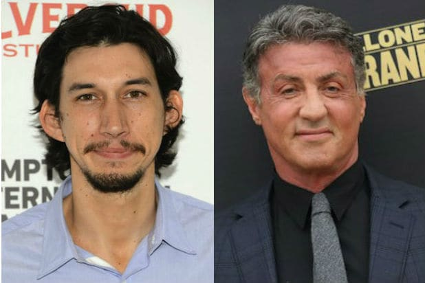 Adam Driver Sylvester Stallone Tough as They Come