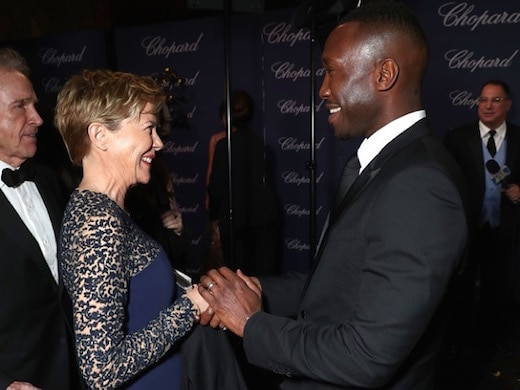 PALM SPRINGS, CA - JANUARY 02: Actors Annette Bening (L) and Mahershala Ali attend the 28th Annual Palm Springs International Film Festival Film Awards Gala at the Palm Springs Convention Center on January 2, 2017 in Palm Springs, California. (Photo by Todd Williamson/Getty Images for Palm Springs International Film Festival)