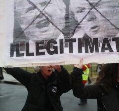 Anti Trump Rally